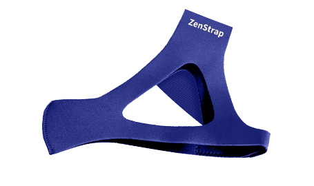 snoring aid ZenStrap for the face, on white background