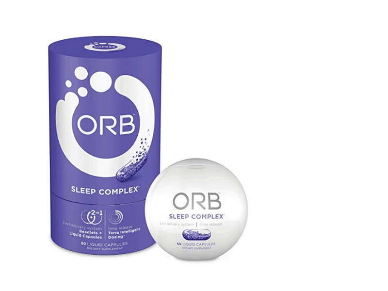 ORB Sleep Complex packaging and bottle