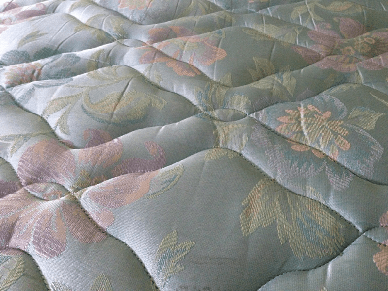 closeup of mattress surface