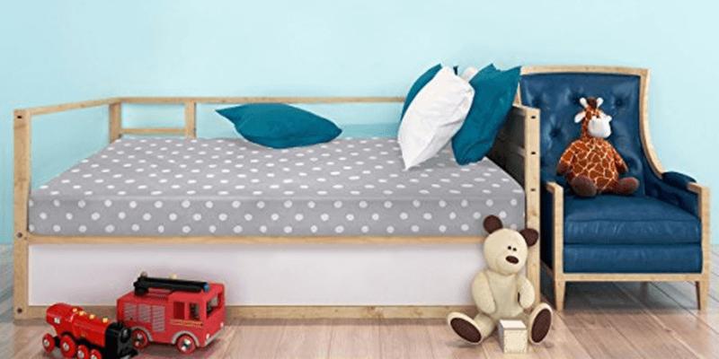 Hypoallergenic Milliard Crib Mattress And Toddler Bed Mattress Waterproof