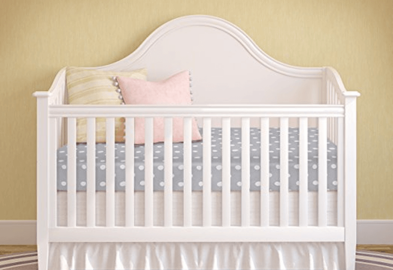 Milliard Crib and Toddler Bed Mattress on Crib