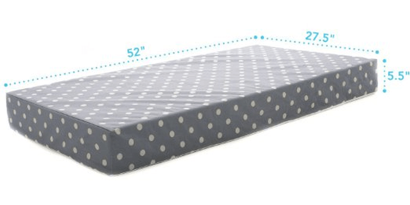 Milliard Crib Bed Mattress Review 2019 Get What You Pay For