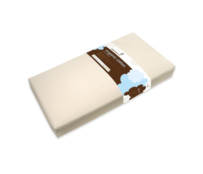 Lightweight Organic Cotton Classic Crib Mattress 1