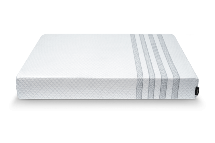Leesa Sapira mattress on white background side view