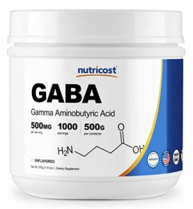 Nutricost Pure GABA Powder