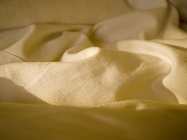 Bed sheets detail
