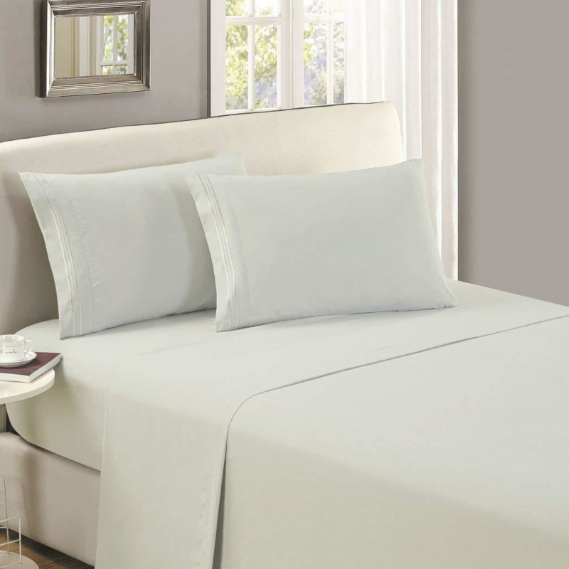 Mellanni Bed Sheet Set as seen on bed