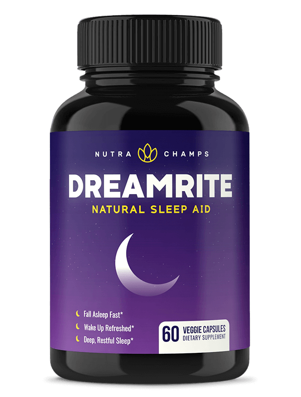NutraChamps DreamRite bottle front