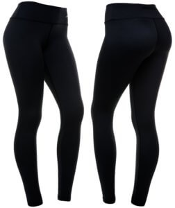 black compression leggings for women